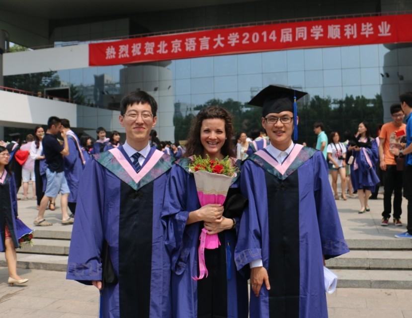 Aline Mathis, diplômée du double Master en traduction ISIT-Université des Langues et Cultures de Pékin