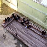 Décontration sur la terrasse