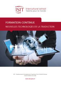 Formation continue - Certificat_Nouvelles_technologies_traduction_2016