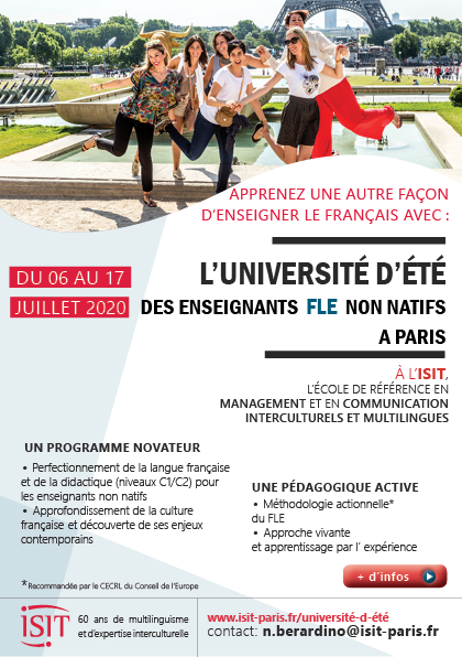 ISIT - Summer school FLE 2020