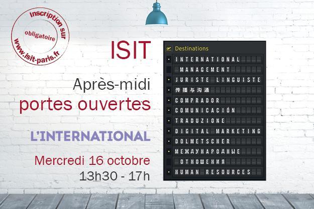 Après-midi Portes ouvertes : focus sur l'international