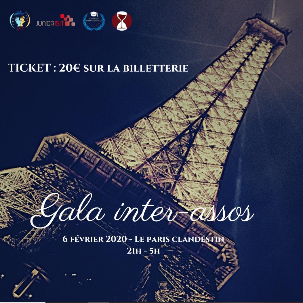 Gala inter-assos ISIT le 6 février 2020