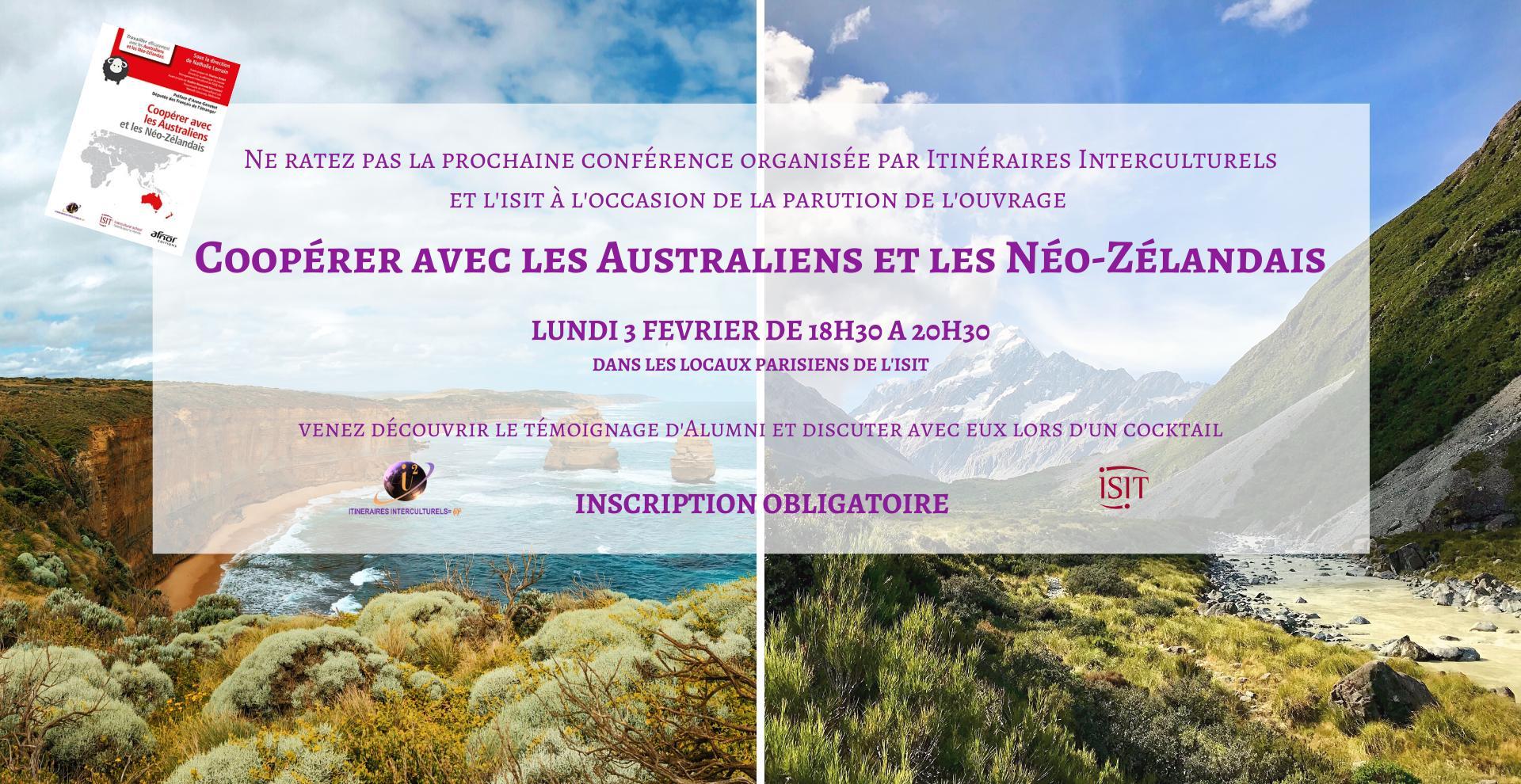 Conférence : coopérer avec les Australiens et les Néo-Zélandais