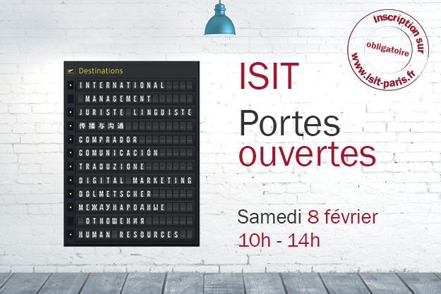 Portes ouvertes ISIT – 8 février 2020