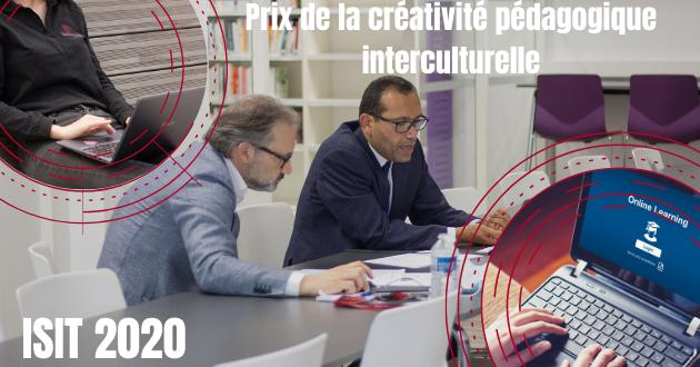 Prix de la créativité pédagogique interculturelle ISIT 2020