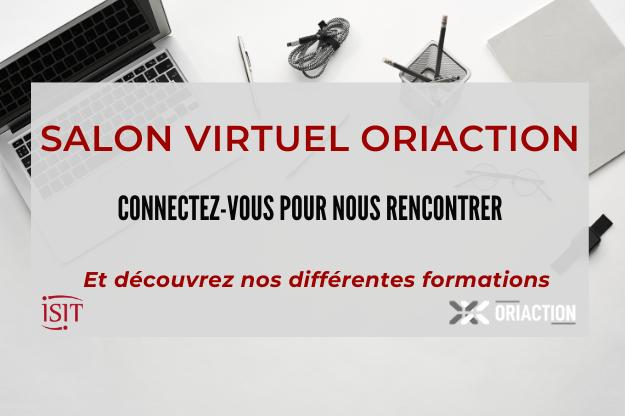 Salon virtuel ORIACTION – 19 au 21 novembre – Nancy