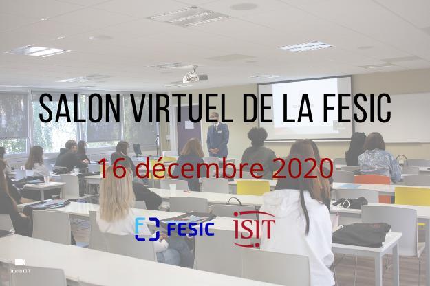 Salon virtuel de la FESIC – 16 décembre