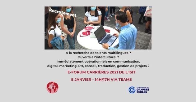 Forum Carrières 2021 : recrutez des talents multilingues !