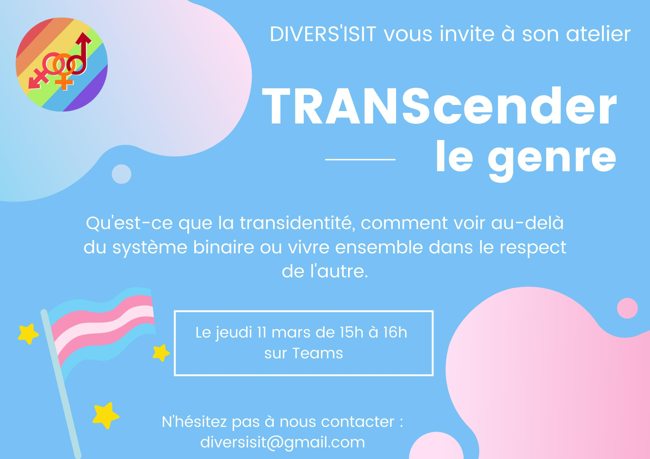 DIVERS'ISIT : TRANScender le genre