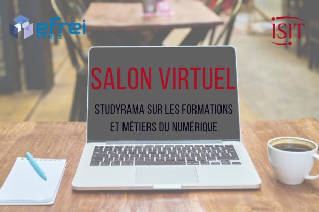 Salon virtuel des formations et métiers du Numérique – 9 mars 2021