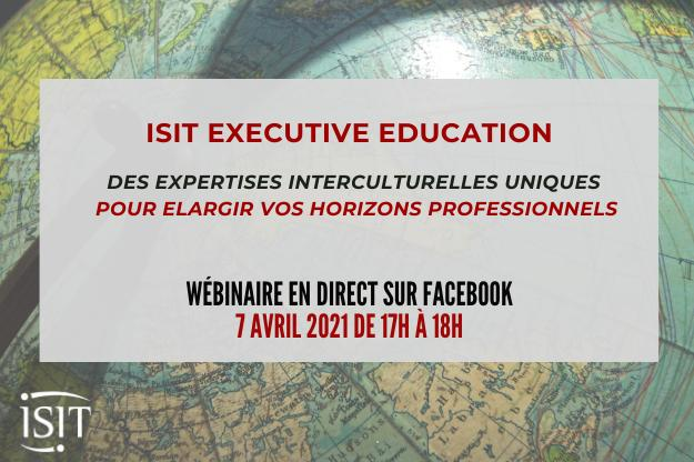 Wébinaire formation continue : l'interculturel comme accélérateur de carrière
