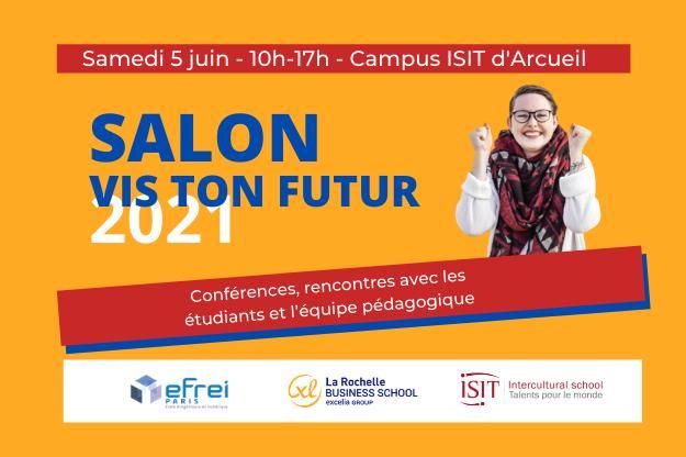 Salon Vis ton futur 2021 : rencontrez l'ISIT et ses partenaires