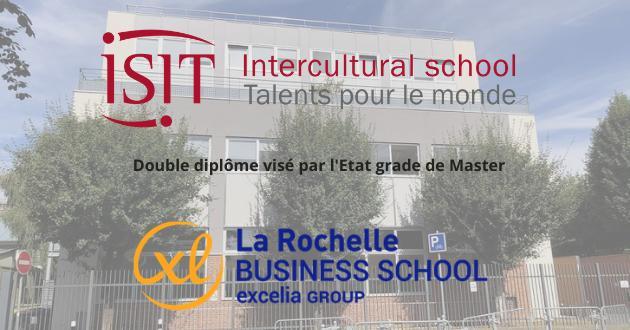 Nouveau double-diplôme entre l'ISIT et EXCELIA Business School