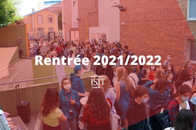 Bon retour à l'ISIT – Rentrée 2021/2022